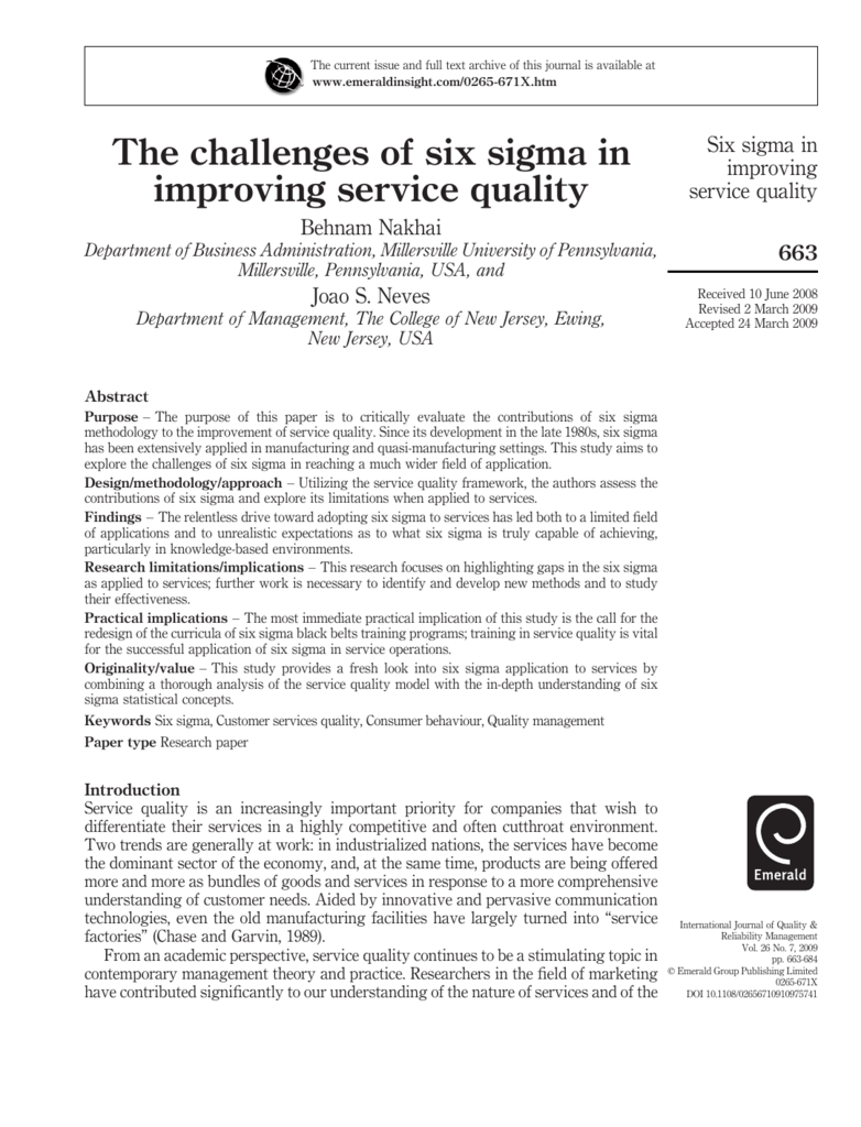sigma magazines case study