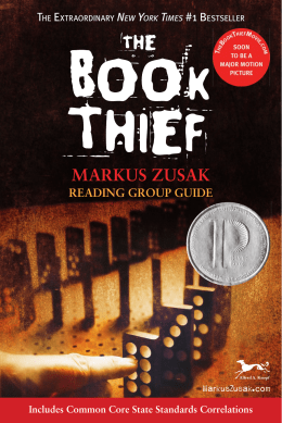 the book thief study guide pdf
