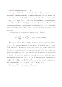 Statement: All numbers are n = 2 l,l ∈ N. I.Let us prove that for all