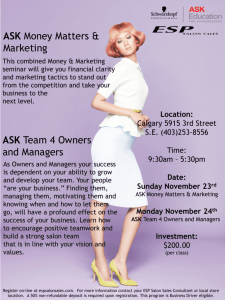 ASK Money Matters & Marketing ASK Team 4