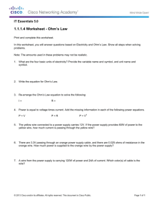 1.1.1.4 Worksheet