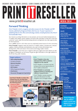 here! - Print IT Reseller Magazine
