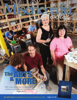 ARTS MORE ARTS MORE - Misericordia University