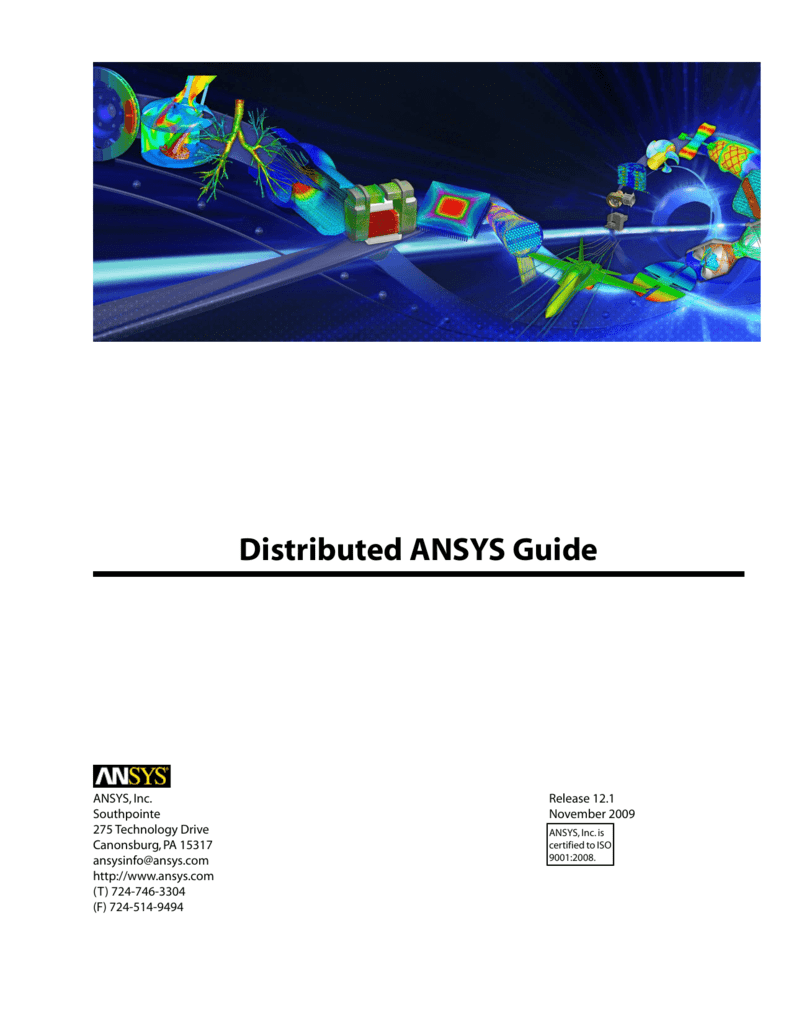 Distributed ANSYS Guide