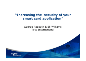 Increasing the security of your smart card application