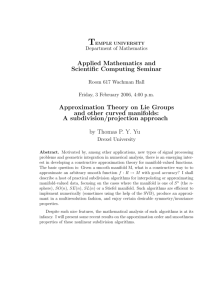 Applied Mathematics and Scientific Computing