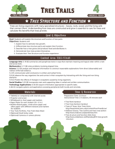 4 Tree Structure and Function Lesson