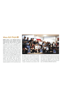 When Art Pays - UCSI University