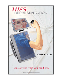 Teacher_Guides_files/Miss Representation Educator's Supplement