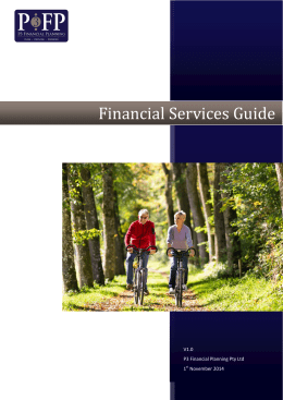Financial Services Guide