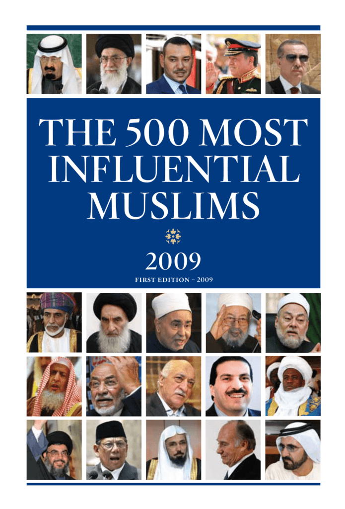 the 500 most influential muslims - The Royal Islamic Strategic