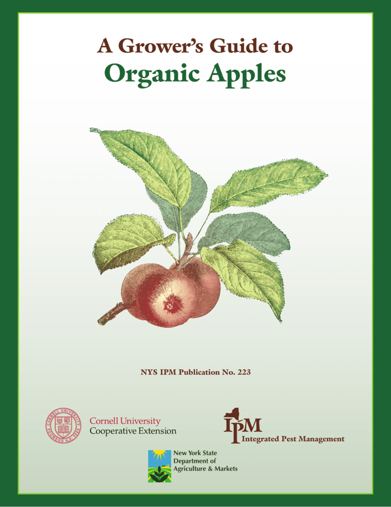 Organic Apples - New York State Integrated Pest Management