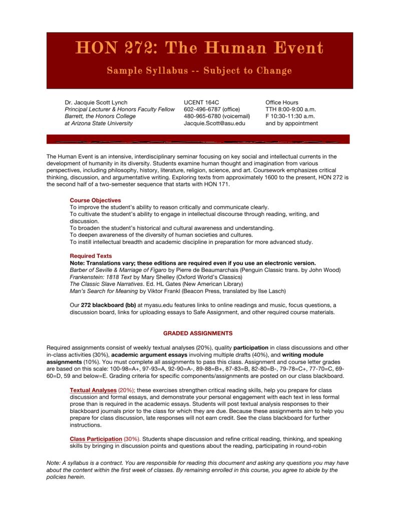 Macaulay application essay