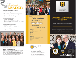 LEADER - College of Business