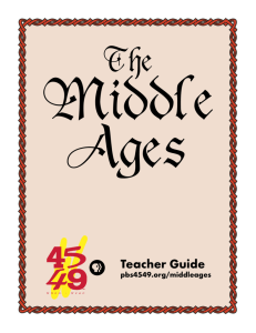 The Middle Ages Teacher Guide - Western Reserve Public Media