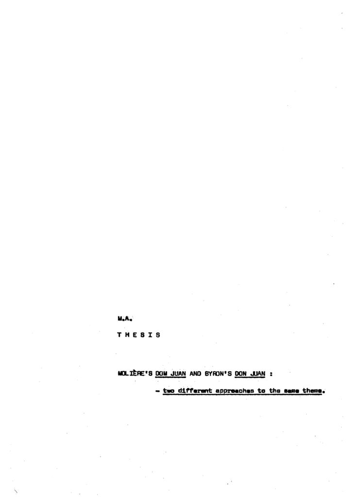 dissertation relation maitre valet dom juan