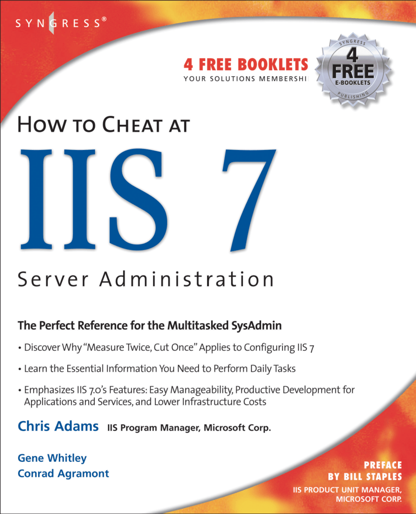 How to cheat at IIS 7