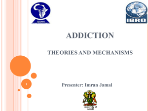 ADDICTION THEORIES AND MECHANISMS