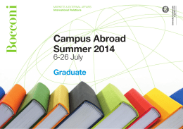 Campus Abroad Summer 2014