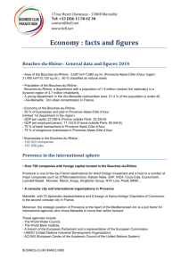 Economy : facts and figures - Business Club France Inde Marseille
