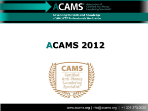 ACAMS Certifications Trifold v3 indd