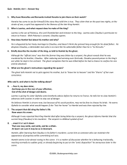 hamlet act iv quiz essay Test-yourself quiz on hamlet acts iii, iv, and v click on the correct answer 1, in  act iii, to whom does hamlet say, give me that man /that is not passion's  the  gravediggers (clowns) engage in a humorous discussion of the propriety of.