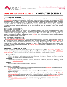 computer science - Career Services