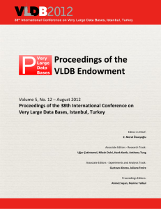 VLDB Endowment