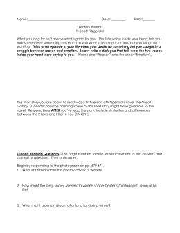 a literary analysis of the characters dexter green and judy jones in winter dreams A list of all the characters in winter dreams the winter dreams characters  covered include: dexter green, judy jones, mortimer jones, t a hedrick, irene .