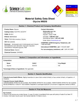 Msds For Calcium Carbonate