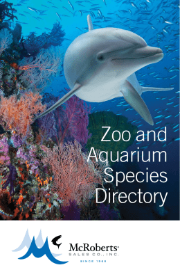 Zoo and Aquarium Species Directory