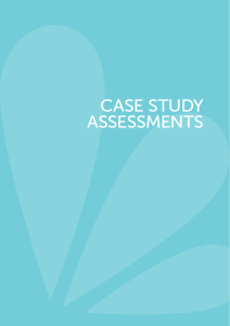 CAse stUDY Assessments