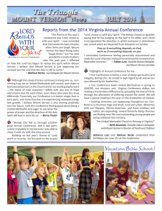 Reports from the 2014 Virginia Annual Conference