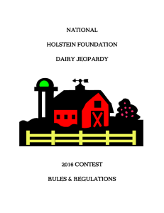 a PDF of the Dairy Jeopardy Contest Rules