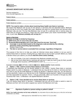 Omnisys Kmart Medicare Part B Billing Procedures