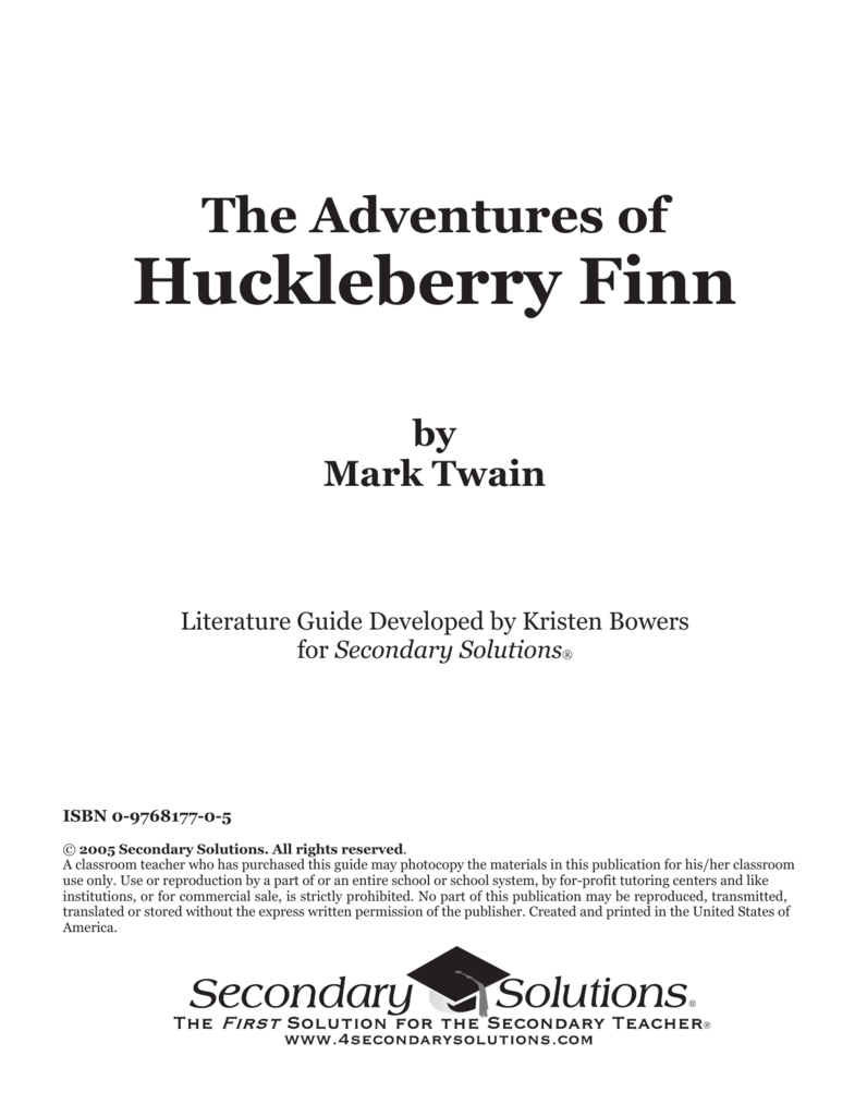 persuasive essays on huckleberry finn Teaching mark twain's adventures of huckleberry finn by shelley fisher fishkin : dr shelley fisher fishkin, professor of american studies and english at the.