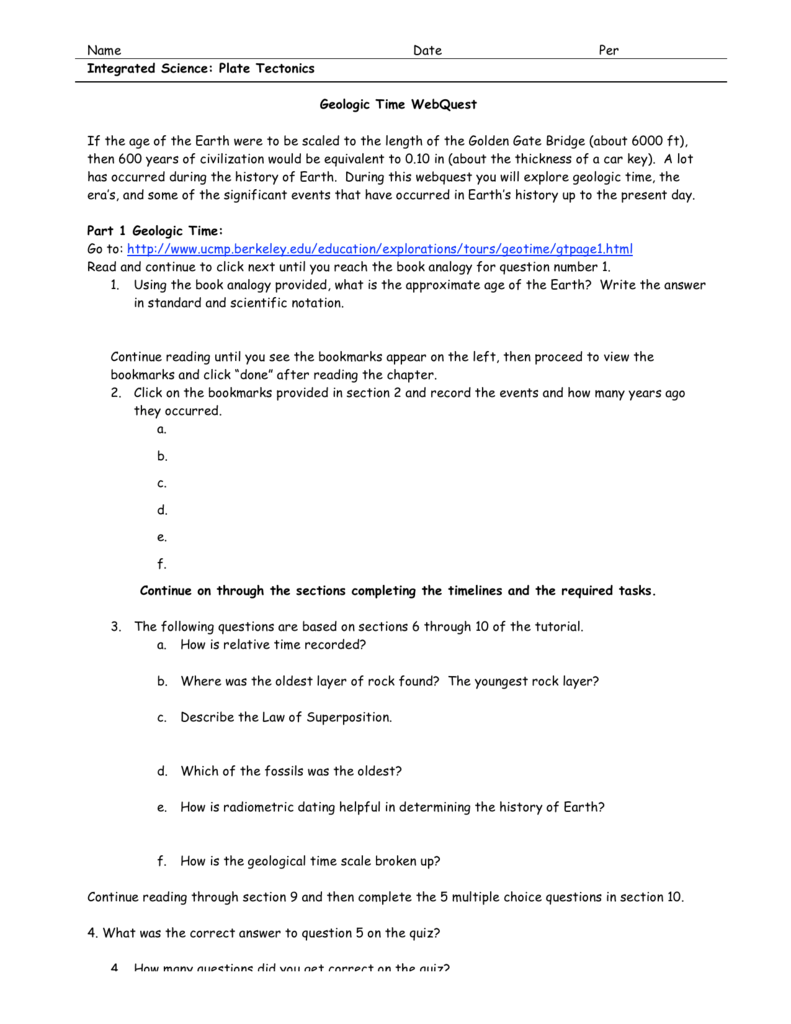 worksheet Geologic Time Worksheet 008274109 1 23346fd8949f668aae446727291497a3 png