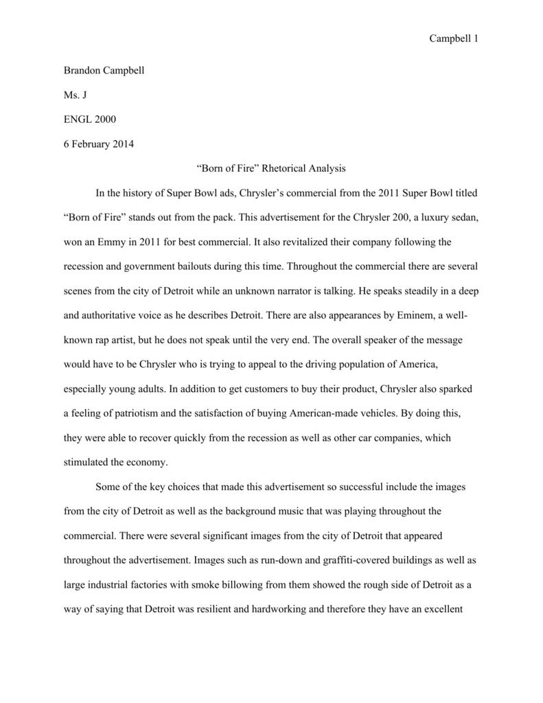 Visual Rhetorical Analysis Essay  Help Writing A Business Plan Uk also Business Communication Essay  Sample Essay Paper