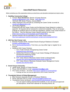 Internship Resources Document