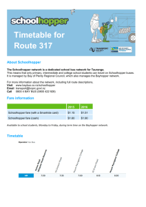 Bus Timetables (PDF Download)