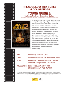 tough guise 2 - Monroe Community College