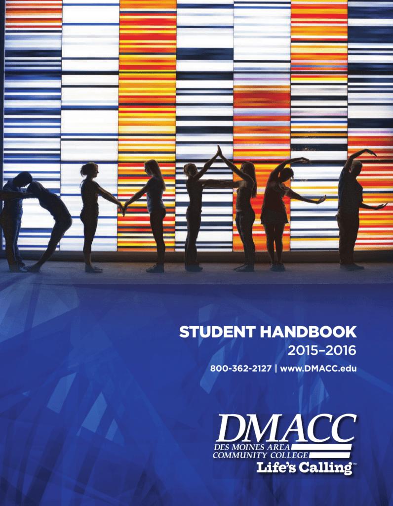 Student Handbook Des Moines Area Community College