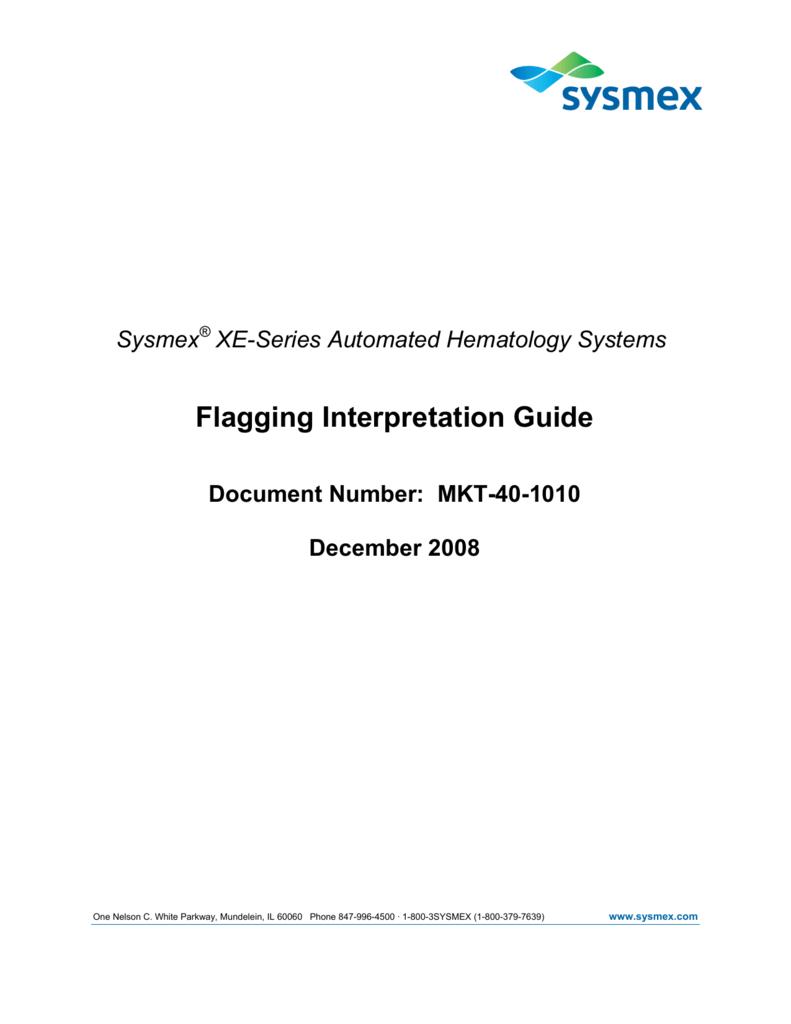Flagging Interpretation Guide