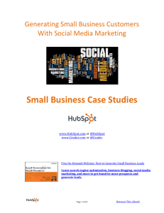 Small Business Case Studies
