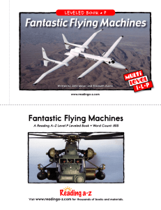 Fantastic Flying Machines