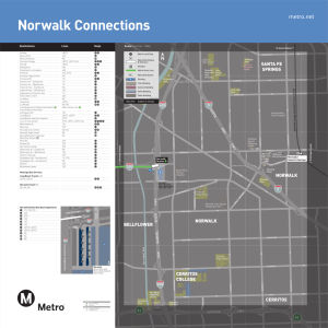 Metro.net Norwalk Connections