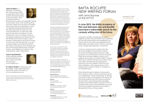 BAFTA ROCLIFFE NEW WRITING FORUM