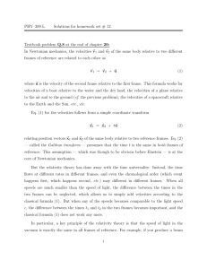 PHY–309 L. Solutions for homework set # 12. Textbook problem Q.8