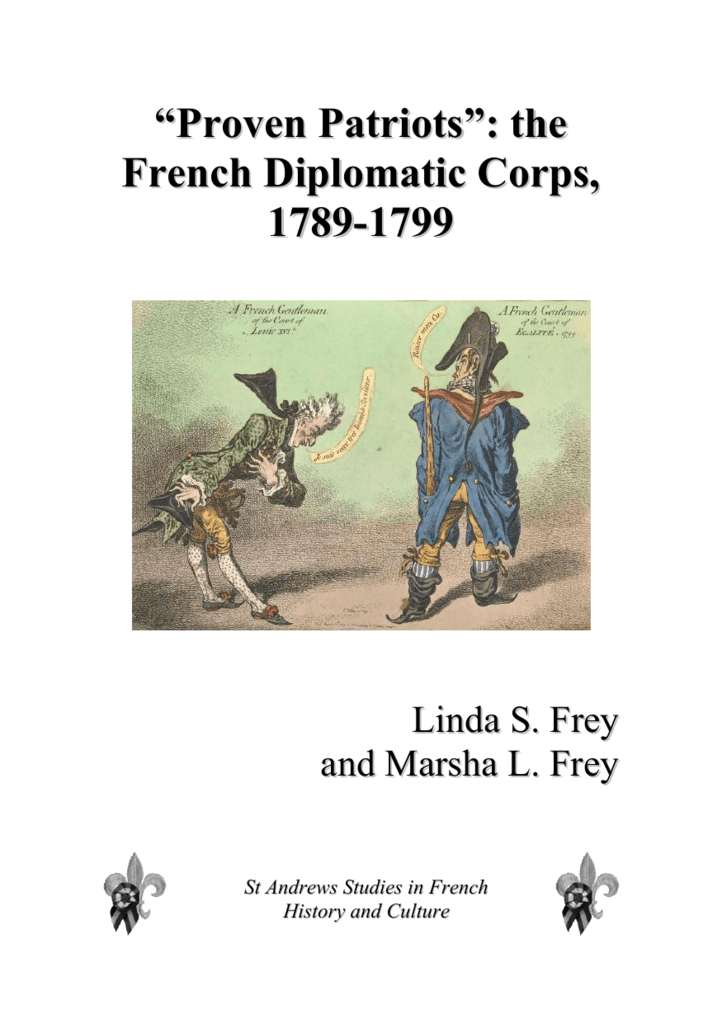 The French Revolution Diplomats Frey And Frey