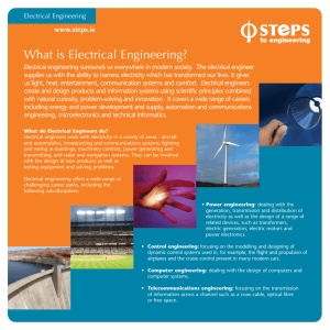 What is Electrical Engineering?